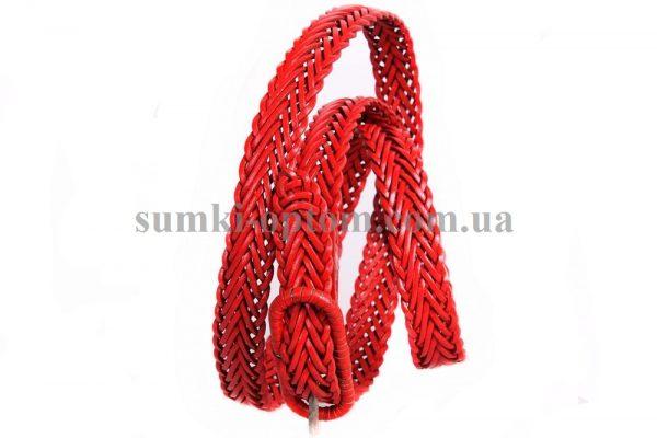 женский плетеный ремень 306775